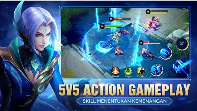 Bermain Games mobile legends